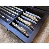 Охотничий трофей Эксклюзивный набор для шашлыка.Шампура+рюмки+нож+вилка, фото 4