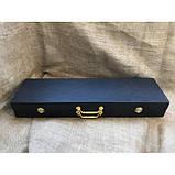 Набор шампуров Охотничий трофей  с ножом в кейсе, фото 7