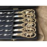 Комплект шампурів На полюванні в кейсі, фото 4