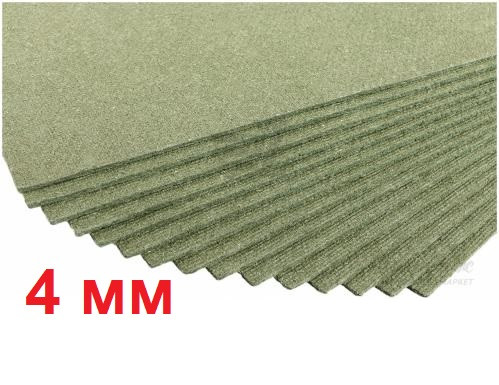 Подложка под ламинат Steico 4 мм древесное волокно
