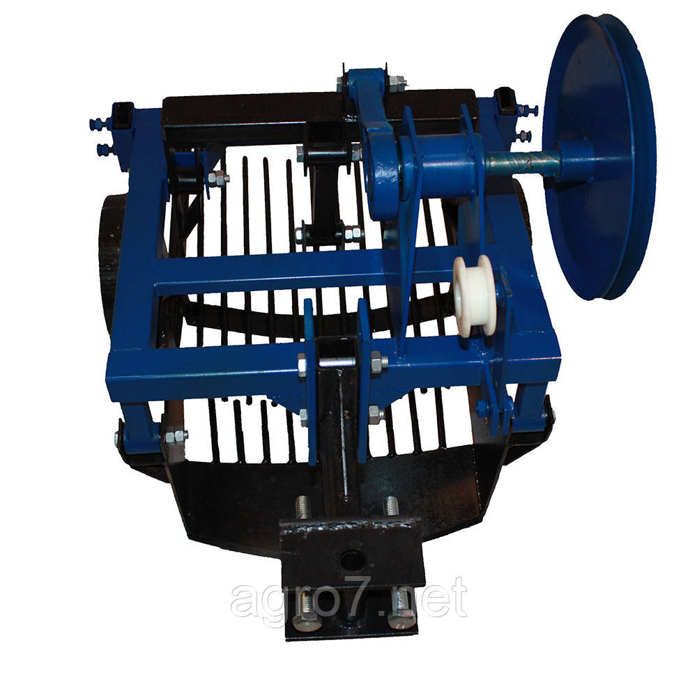 Картоплекопачка вібраційна для мототрактора з гідравлікою 2х