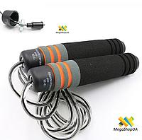 Скакалка скоростная на подшипниках для фитнеса / Регулируемая длина / Скакалки для спорта на подшипниках