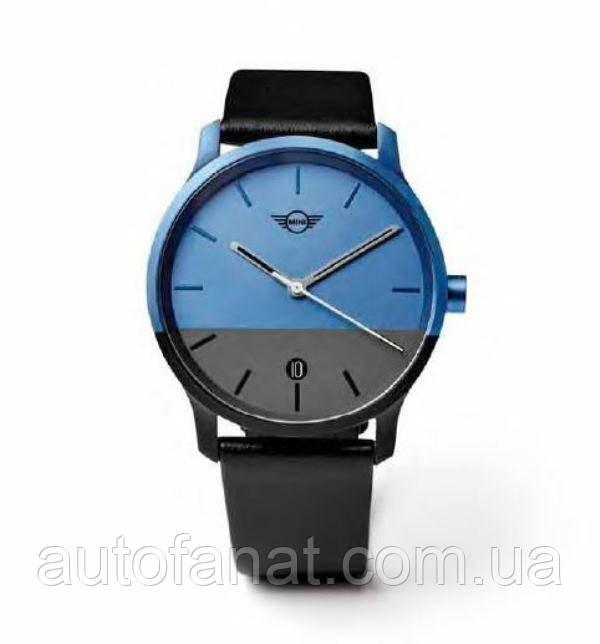 Оригінальні наручні годинники унісекс MINI Colour Block Watch Unisex, Black/Island (80262460918)