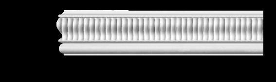 Молдинг для стен с орнаментом Classic Home 3-0831, лепной декор из полиуретана