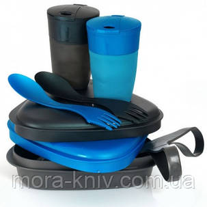 Туристическая посуда набор Light My Fire Pack-n-Eat Kit Blue-Black ( 50687940), фото 2