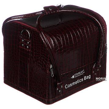 Б'юті-кейс, сумка для майстрів індустрії краси, саквояж, органайзер, валіза для косметики Starlet
