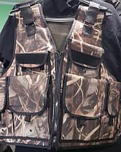 Жилеты камуфляжные маскировочные, для охотника, код : 100.