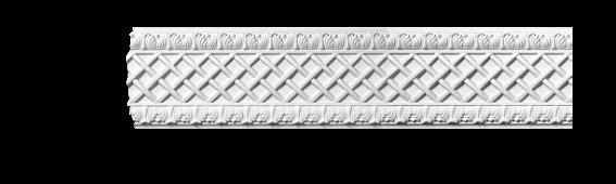 Молдинг для стен с орнаментом Classic Home 3-0970, лепной декор из полиуретана