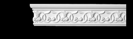 Молдинг для стен с орнаментом Classic Home 3-1012, лепной декор из полиуретана