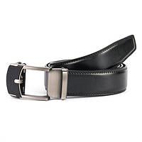 Ремень Мужской кожаный черный TH5-0104 black