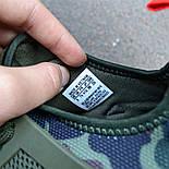 Мужские кроссовки Adidas NMD RX1 CAMO. Живое фото (Реплика ААА+), фото 5