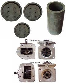 Запасные части на автовышки ТВГ-15Н и машины аварийные для ремонта контактных сетей АТ-70М-041