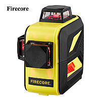 Лазерный уровень/лазерный нивелир 3D Firecore F93T-XR КРАСНЫЙ ЛУЧ