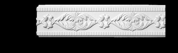 Молдинг для стен с орнаментом Classic Home 3-1190, лепной декор из полиуретана