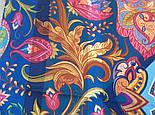 10476-14, павлопосадский платок из вискозы с подрубкой, фото 8