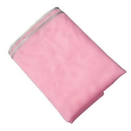 Анти-песок пляжная чудо-подстилка Originalsize Sand Free Mat 200*200 Розовая, фото 2