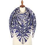 10477-14, павлопосадский платок из вискозы с подрубкой, фото 3