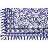 10477-14, павлопосадский платок из вискозы с подрубкой, фото 4