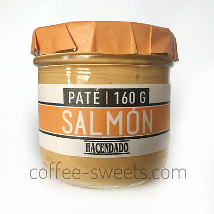 Паштет Hacendado Pate Salmon (лосось) 160 g, фото 2