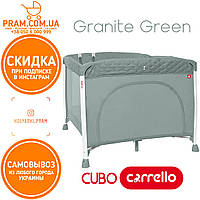 CARRELLO Cubo CRL-9205 манеж Granite Green Зеленый