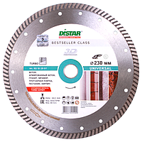 Круг алмазный Distar Turbo Bestseller Universal 230 алмазный диск по бетону, граниту и тротуарной плитке