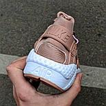 Женские кроссовки Nike Air Huarache Gold в сеточку летние. Живое фото  (Реплика ААА+), фото 3