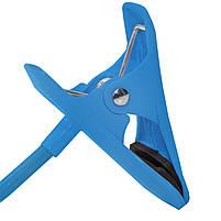 ➛Гибкий держатель Lesko 360 Blue для смартфона прикроватный вращающийся на гибкой ножке универсальный, фото 4