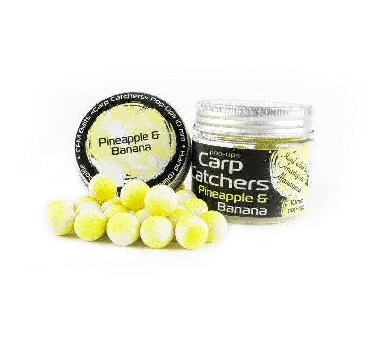 "Бойлы pop-up Carp Catchers ""Pineapple&Banana"" 14mm"