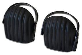 Наколенники защитные Technics резиновые черные (16-576)