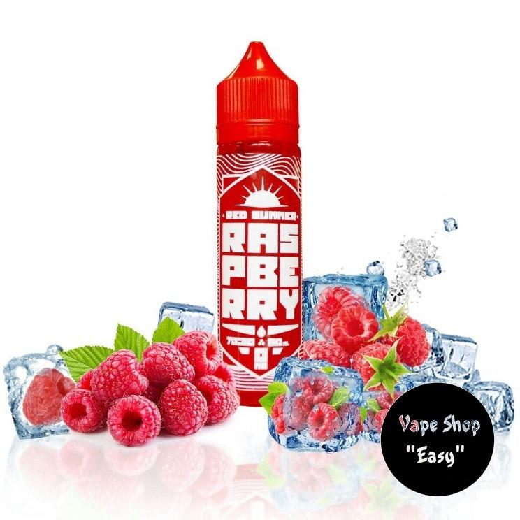 Red Summer Raspberry60 ml Премиум жидкость (заправка) для электронных сигарет.