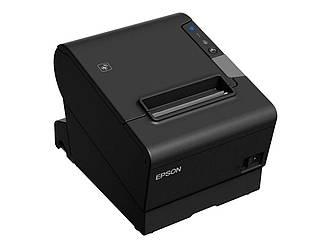 Чековый принтер Epson TM-T88VI LAN + USB c автообрезкой