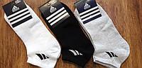 """Жіночі короткі шкарпетки (сітка) в стилі """"Adidas"""" Туреччина, 36-40, фото 1"""