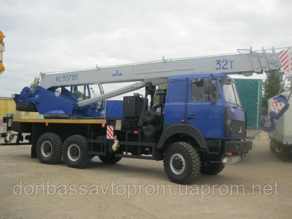 Новый автокран КС-5571BY-F-22 г.п. 32 тонный, полный привод 6х6