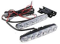 DRL дневные ходовые огни ДХО LED X 33 - 1 с поворотом кристалы (2шт.)