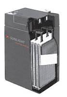 Герметичная свинцово-кислотная аккумуляторная батарея серии SPb тип SPb 6-160 Ач SUNLIGHT (Греция).