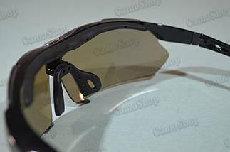 Окуляри тактичні зі змінними лінзами (5 штук), фото 3