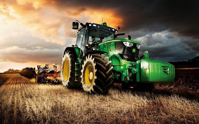 Новые тракторы Джон Дир