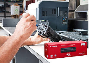 Восстановление (заправка) картриджа Canon 725