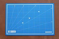 Коврик самовостанавливающийся для резки кожи Santi, размер 45*30 см, формат А-3, толщина 3 мм., арт. СК 6061