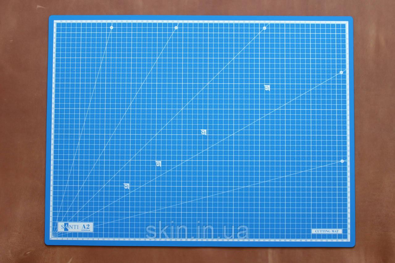 Коврик самовостанавливающийся Santi, формат А-2, размер - 60*45 см, толщина - 3 мм, артикул СК 6066