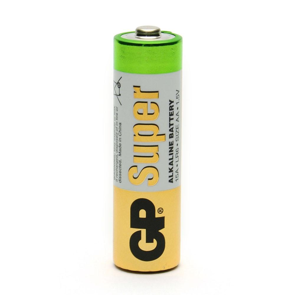Батарейка GP 15A-S2 Super Alkaline LR6, AA