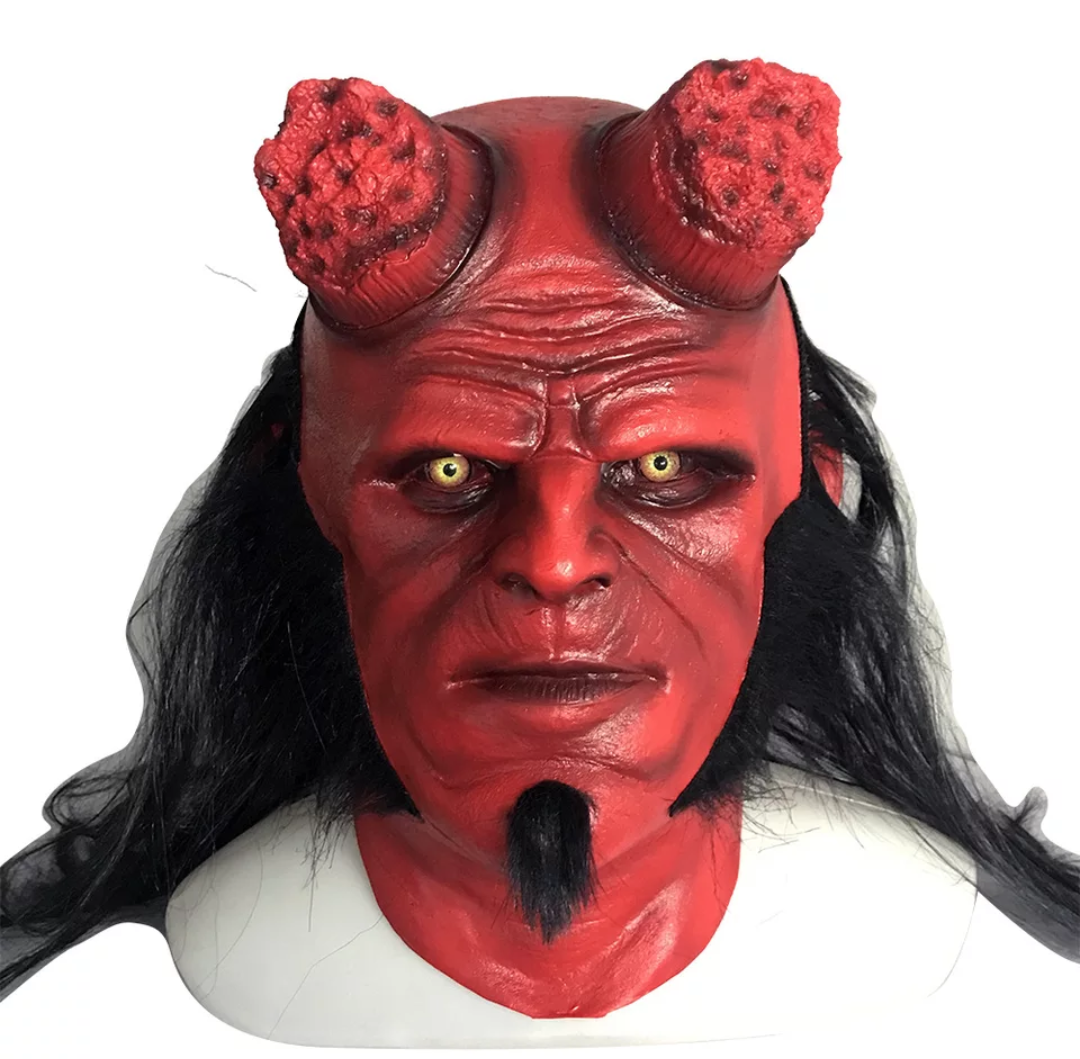 """Маска Хеллбой """"Герой из пекла"""" - Hellboy"""