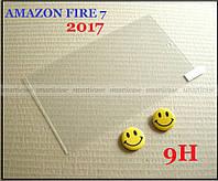 Amazon Fire 7 2017 захисне скло броньоване Mietubl Glass 9H 2.5 d з олеофобним покриттям