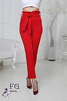Женские брюки с высокой посадкой  009D/ 03, фото 1
