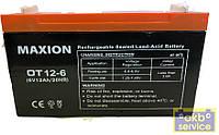 Мото аккумулятор GEL MAXION Промышленный 6-12 (6V, 12 Ah/10HR)