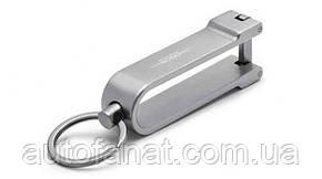 Оригинальный стальной брелок MINI JCW Keyring, Silver (80272454544)