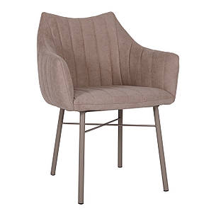 Кресло BONN (64*60*87 cm текстиль) кофейный, фото 2