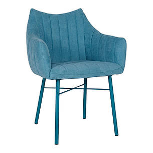 Кресло BONN (64*60*87 cm текстиль) бирюза, фото 2