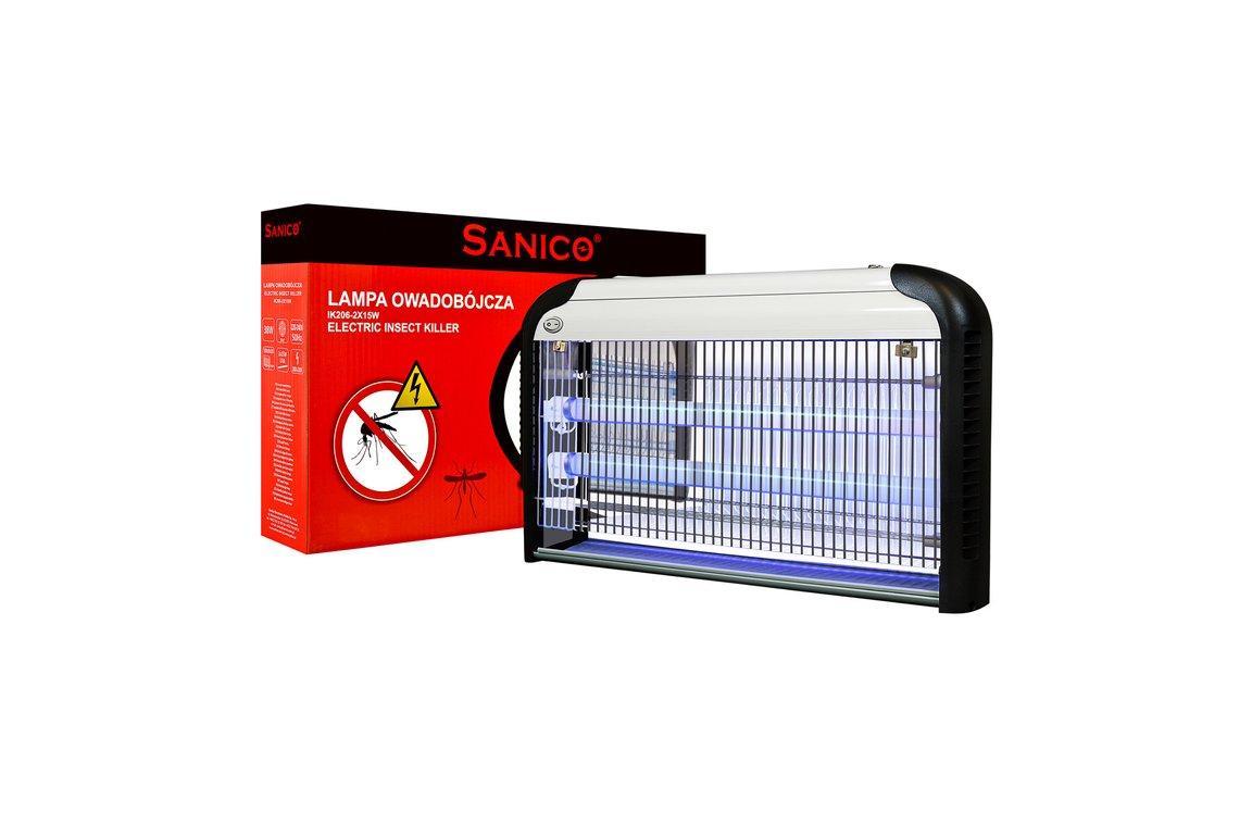 Лампа инсектицидная SANICO GSK-40W   ( Уничтожитель комаров и мух, москитная лампа ловушка )