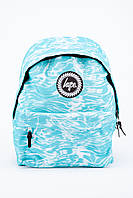 Рюкзак с принтом HYPE (бирюзовый)